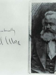 Brüderlich. Karl Marx